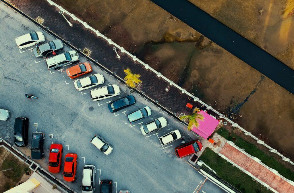 prevent parking lot accidents